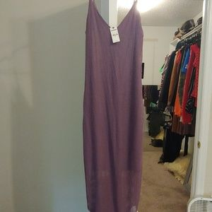 Purple express dress